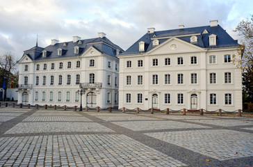 Buildings at Ludwigsplatz Saarbruck