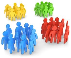 Gruppen Parteien