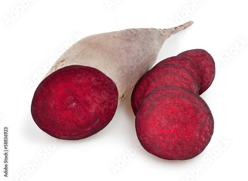 beetroot cut