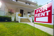 Home For Rent Sign - 58837761