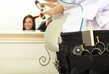 Professional equipment tools hairdresser hair beauty salon