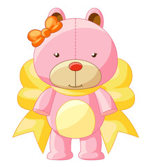 Cute illustration of Teddy Bear.