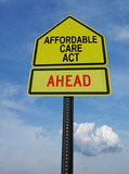 affordable care act ahead sign