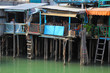Stilt houses in chinese fishing village Tai O, Hong Kong