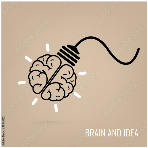 creative brain symbol,creativity sign,business symbol,knowledge