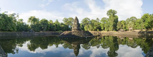 Preah Neak Pean Temple, Angkor Wat, Cambodia