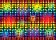 abstract vector bright squares background