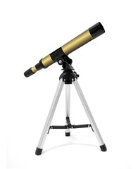 Telescope on tripod