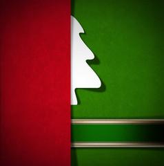 Merry Christmas - Red and Green Velvet