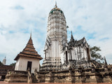 Ancient pagoda at Ayutthaya Thailand