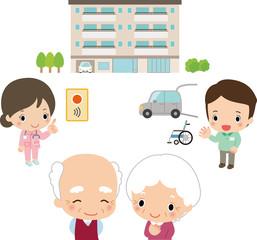 高齢者向け住宅のイメージ