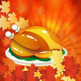 Thanksgiving Day design background.