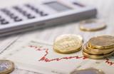Volatiler Finanzmarkt poster