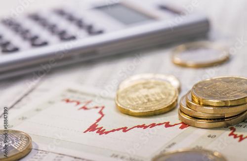 Volatiler Finanzmarkt