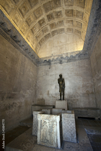Jupiter temple in Diocletian palace, Split in Croatia