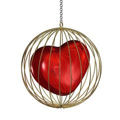 Gefangenes Herz - Goldener Käfig R