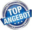 "Button Banner ""Topangebot"" blau"