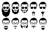 Fototapety mustaches and beards