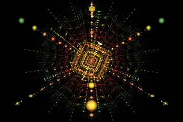 Particle collision fission
