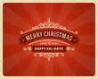 Christmas postcard ornament decoration background