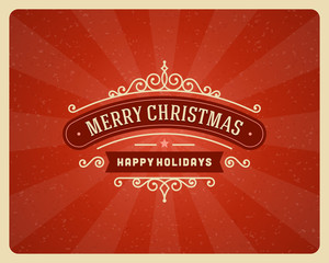 Christmas postcard ornament decoration background