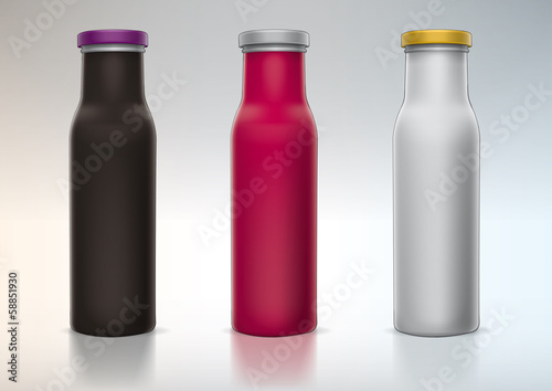 blank bottle for presentation new design