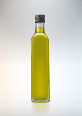 Bottle for new design. Olive oil