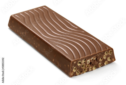 crunchy chocolate bar