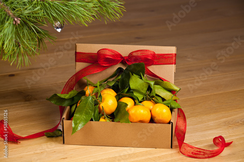 Gift box with Mandarin