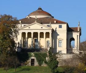 Beautiful Villa called La Rotonda in Vicenza in Italy in autumn