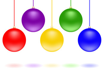 Christmas decorations - spheres