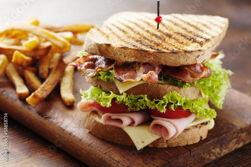Aluminium Snack club sandwich