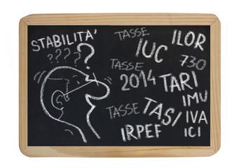 tasse italiane 2014