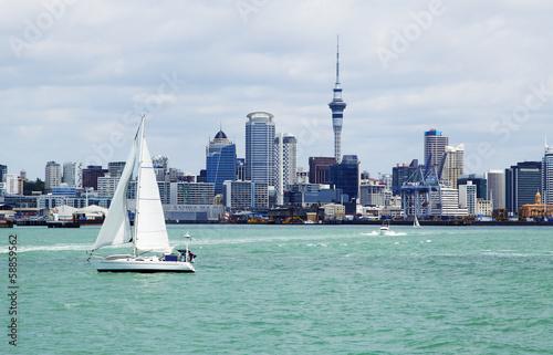 Fotobehang Nieuw Zeeland Auckland