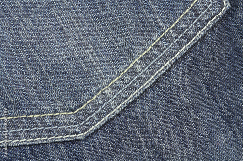 jeans fabric closeup