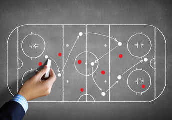 Hockey strategy plan