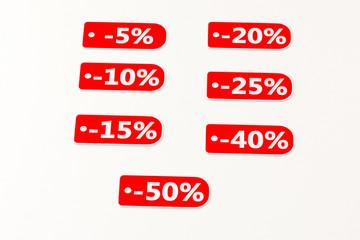 set of discounts