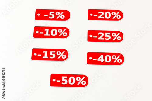 set of discounts