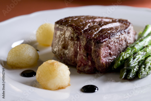 Poster juicy tenderloin steak