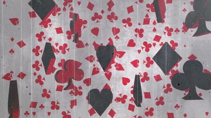 Gambling Grunge Looping Animated Background