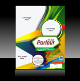 Colorful Parlour Flyer