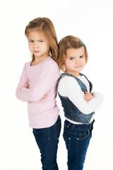 Zerstrittene Kinder