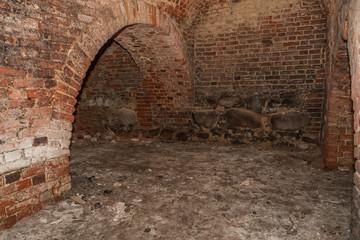 Underground in a medieval castle