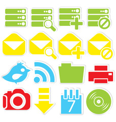 Internet icons database
