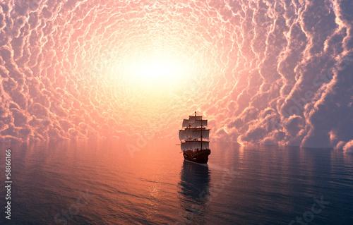 Mystical clouds
