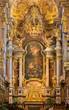 Vienna -  Baroque altar of monastery church in Klosterneuburg