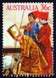 Postage stamp Australia 1986 Three Kings, Christmas