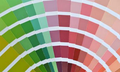 Catálogo de colores pantone