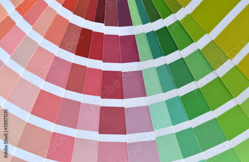 Catálogo de colores pantone © miff32