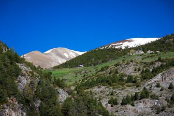 mountains of Andorra